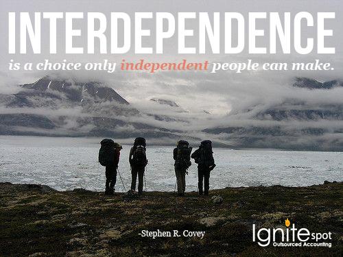 interdependence