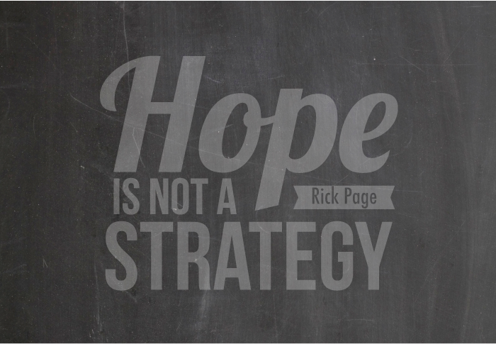 Profit Coaching Roundup: Hope Alone is Not a Strategy