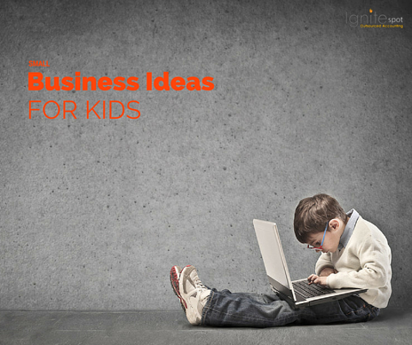 What are some small business ideas for kids?