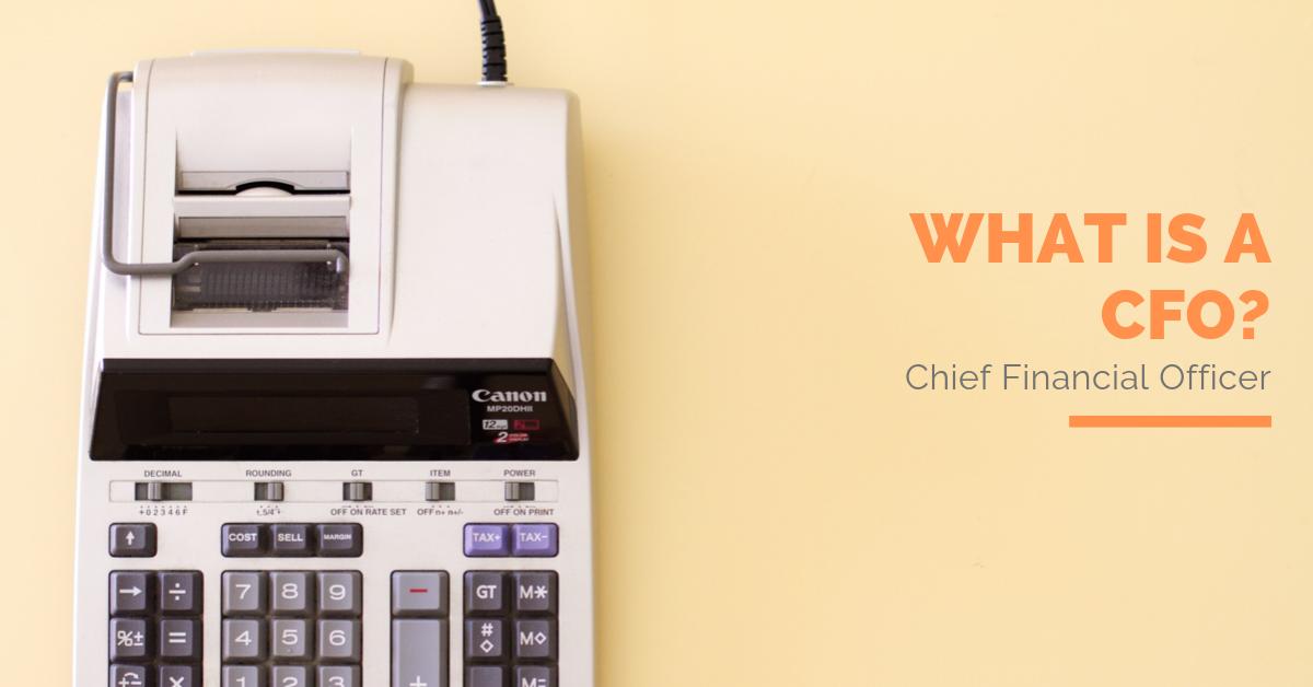 What is a CFO_