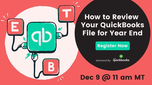 how to review your quickbooks file for year end promo image