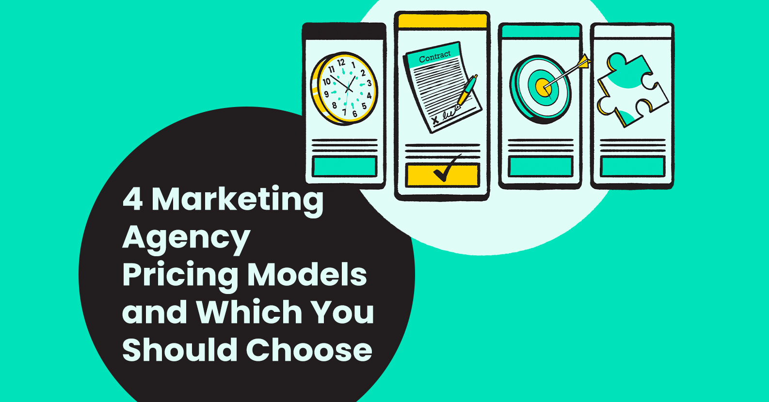 4 Marketing Agency Pricing Models and Which You Should Choose