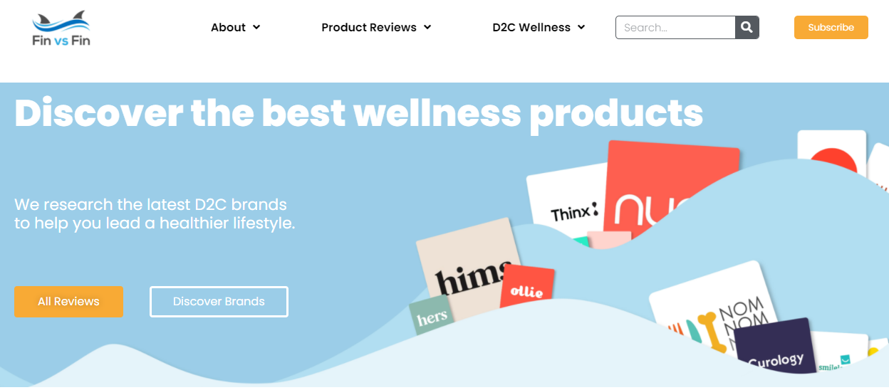 fin vs fin product review site